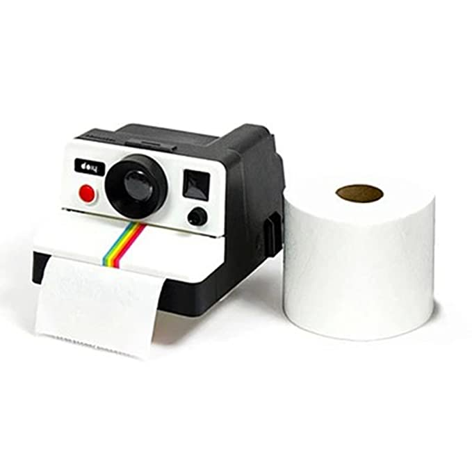 RXBC2011 Toilettenpapierhalter Kamera Style Badezimmer WC Papierrollenhalter