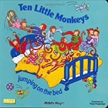 By UNKNOWN - Ten Little Monkeys Jumping on the Bed [Board book] by UNKNOWN ( Author )