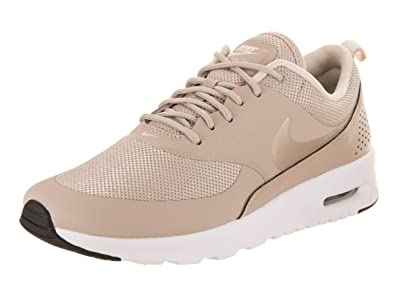 ee5fe5be3b64 Nike Women s Air Max Thea String Light Cream Black White Running Shoe 11