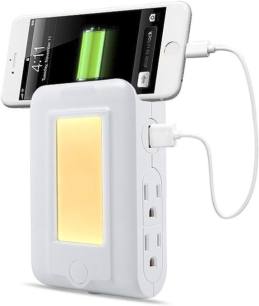 Amazon.com: TryLight - Cargador de pared USB con 2 puertos ...