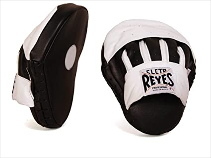 Buy Cleto Reyes Pantera Focus Mitts - Black White Online at Low Prices in  India - Amazon.in f3f868606b51