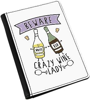 Attention fou vin Coccinelle Porte-Passeport housse Gift Base®