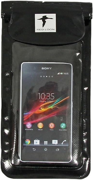 Sony Xperia Z Red Loon contusionadas negro funda para smartphone ...