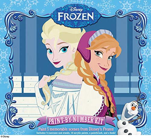 Disney: Frozen Paint by Number Kit: Paint Your Favorite Scenes!
