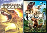 Amazing World of Dinosaurs & Walking with Dinosaurs Movie Set DVD Animated Dino Fun Pack Films