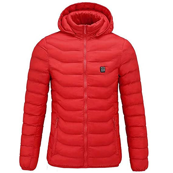 Yvelands Ropa Caliente al Aire Libre calefacción para Montar esquí Carga de Pesca a través de una Blusa con Abrigo: Amazon.es: Ropa y accesorios