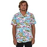 Island Style Clothing Mens Hawaiian Shirts Flamingo Floral Tropical Party Prints