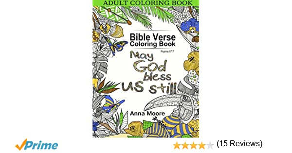 Coloring Book Bible Verses : Amazon.com: adult coloring book: bible verse book