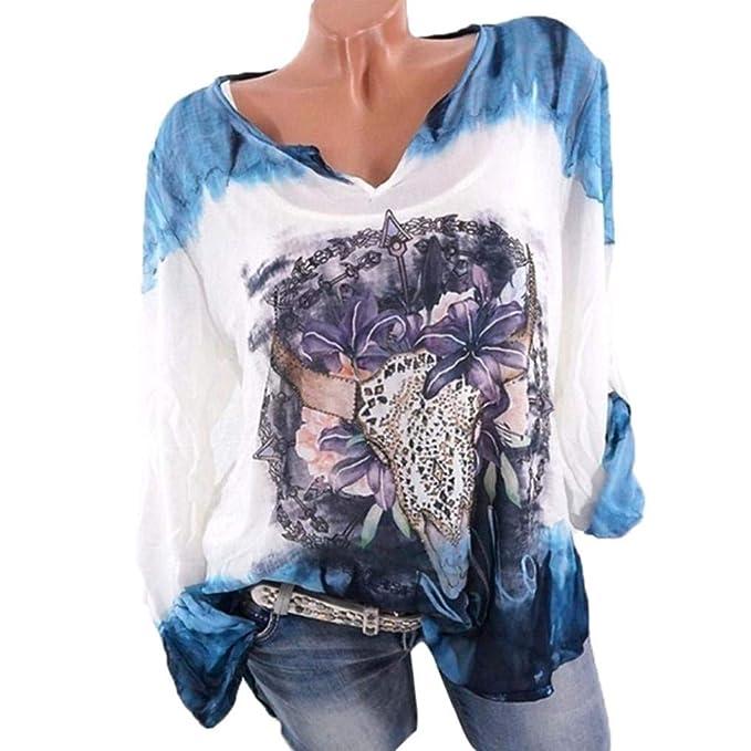 Camisas De Las Se?oras De Las Blusa Se?oras De Cuello En V