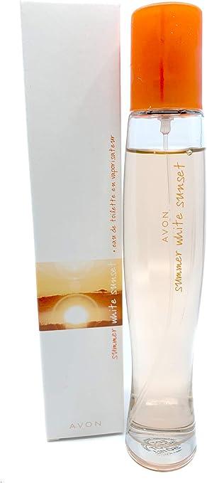 Avon Summer White Sunset Eau de Toilette Para Mujer 50ml