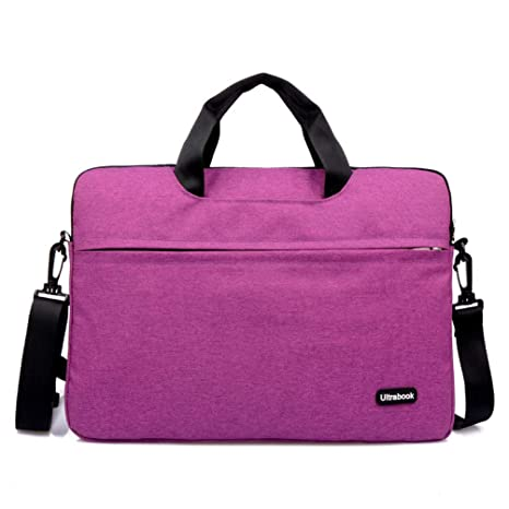 13-13.3 pulgadas multifuncional portátil de luz delgada portátil hombro bolsa maletín portátil de ordenador