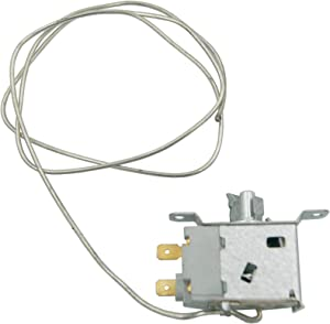 Supplying Demand 241537103 Refrigerator Temperature Cold Control Replaces 5304421256, 241537101 Ground Wire No Longer Required