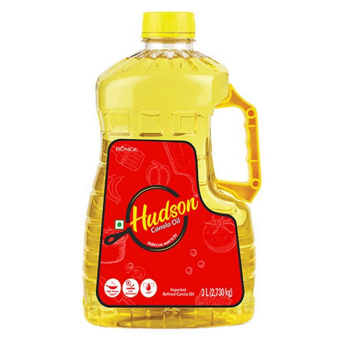 Hudson Canola Oil, 3L