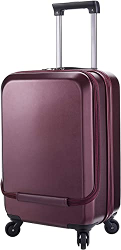 ALSTER Luggage Carry-On lightweight Durable Hardshell PC 20 Spinner 4-Wheel