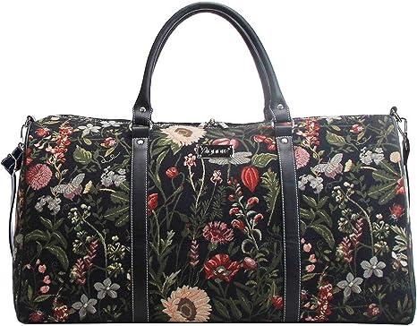 Tapisserie Siganre Grand Sac De Voyage Femme Weekender Bagage /à Main Grand Gym Bag