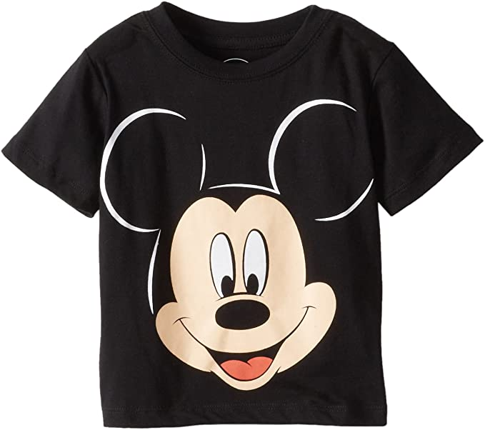 Disney Boys 4 Pack T-Shirt Toddler//Little Boy Mickey Mouse Short Sleeve Graphic Tee