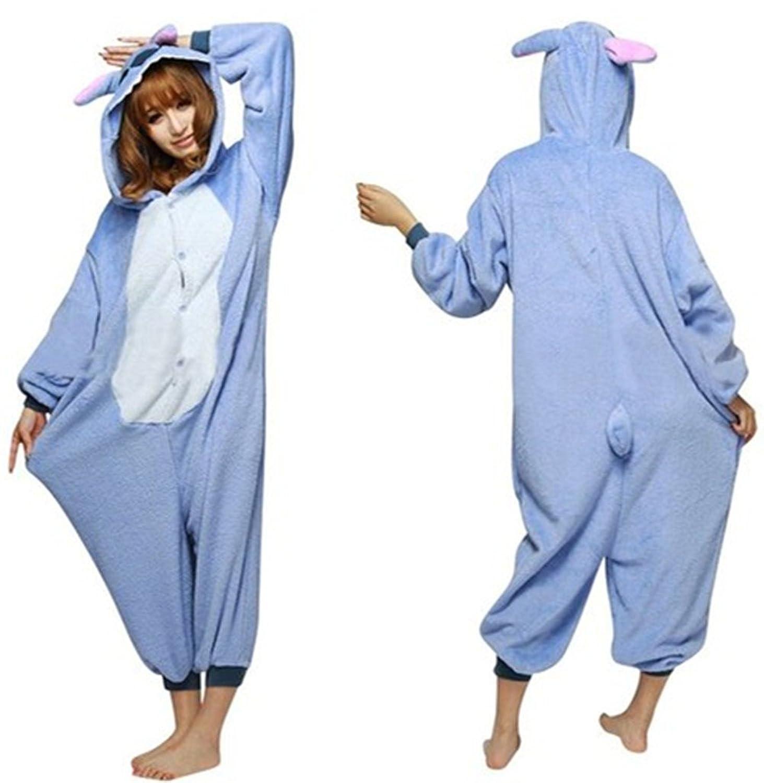 Sunrise Adults Stitch Onesie Halloween Costumes Sleeping Wear Kigurumi  Pajamas f7887a187