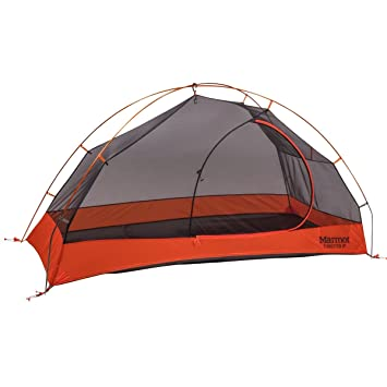 Marmot Tungsten 1P Backpacking Tent-1 Person-Blaze Orange  sc 1 st  Amazon.com : 1 person backpacking tent - memphite.com