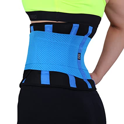 67598bffbe Woyo-shaper Xtreme Power Belt Fitness Waist Cincher Sport Shapewear Waist  Sport Belt (Small