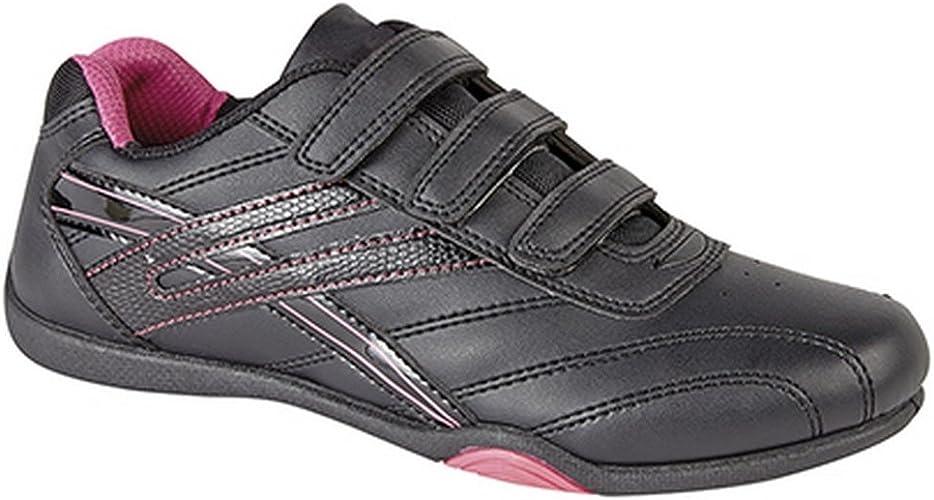 PDQ Damen Raven 3 TurnschuheSneakers mit Klettverschluss