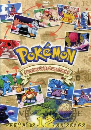 Pokemon - The Adventures in the Orange Islands Vol 1 (Series Box Pokemon Set)