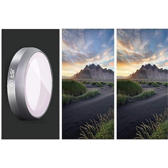 Baoblaze Lente de C/ámara Protector de Filtro UV para DJI Mavic 2 Zoom Drone