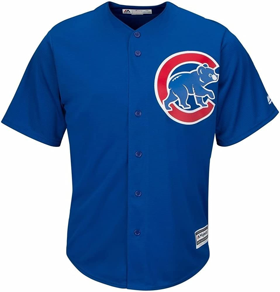 Majestic Athletic Mens Chicago Cubs Kris Bryant 2015 Cool Base Alternate Jersey