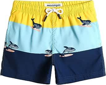 MaaMgic Bañador Niño Ropa de Baño para Natación Secado Rápido Interior de Malla Shorts de Natación 2021