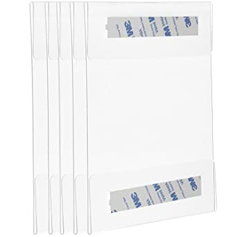 Amazon.com: Cq Acrylic - Soporte de pared para carteles ...