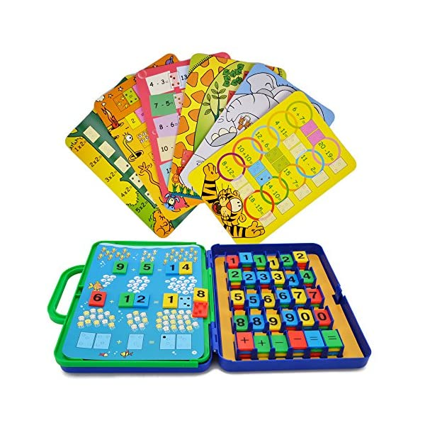 preschool maths cards learning toys wishtime colourful maths games for toddler kids educational number counting - Toys For Girls Age 11 12 For Christmas
