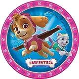 Girl PAW Patrol Dinner Plates, 8ct