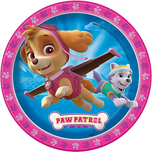 Price comparison product image Skye Girl PAW Patrol Dinner Plates, 8ct