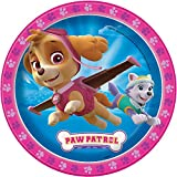 Girl PAW Patrol Dinner Plates, 8ct