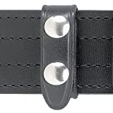 Safariland Duty Gear Chrome Snap Belt Keeper (4PACK) (Plain Black)