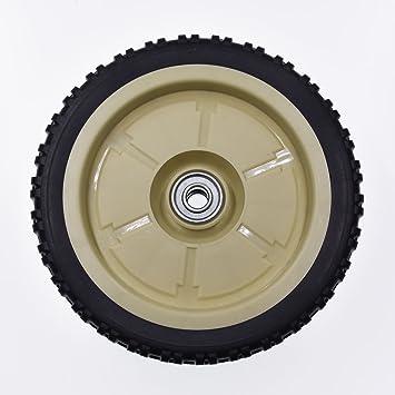 Rueda trasera de JRL, para cortacésped, 20,3 x 4,4 cm: Amazon.es: Coche y moto