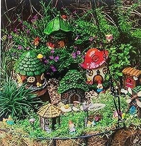 Miniatura hada jardines–Juego de 25piezas.