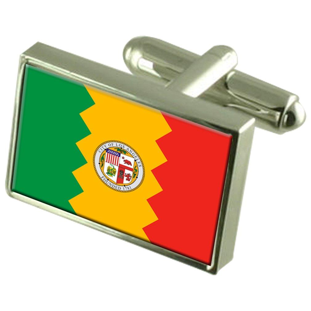 Los Angeles City USA Flag Cufflinks