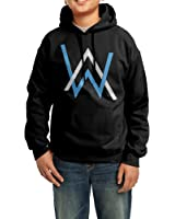 Telle ah custom alan walker classic logo boys girls youth kids hooded sweatshirt - Alan walker logo galaxy ...