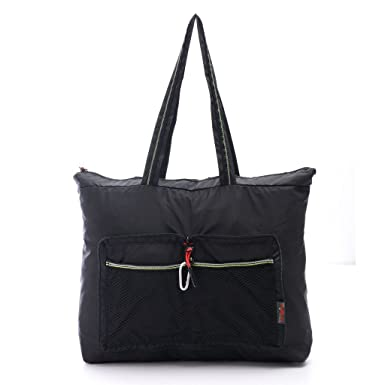 Amazon.com | Lightweight Gym Tote Bag Foldable Beach Tote Shoulder ...
