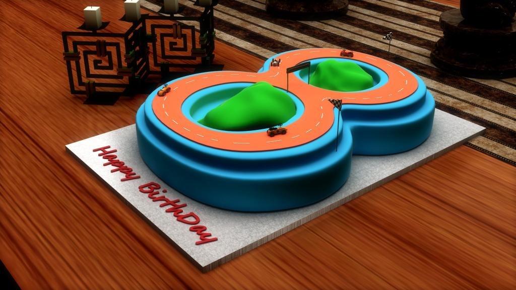 Cake Pans Large Number Zero Birthday Wedding Anniversary Cake Tin