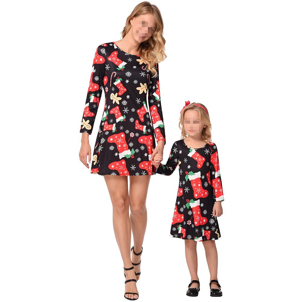 Christmas In July Outfits Australia.Amazon Com Matching Mom And Daughter Christmas Dresses