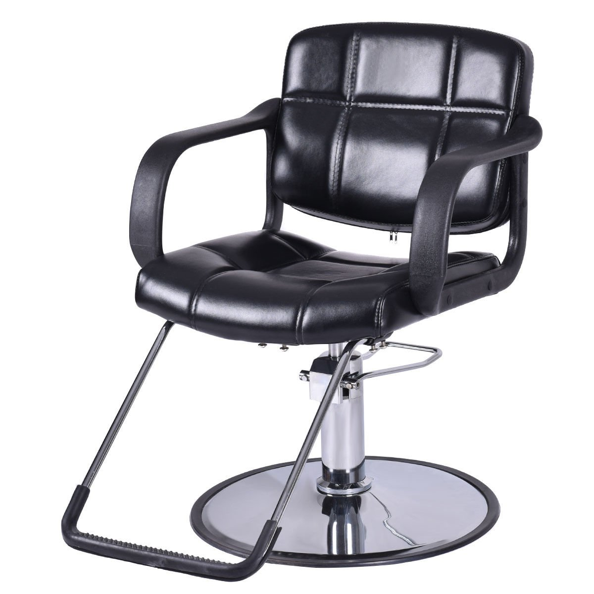 "Giantex Classic Hydraulic Barber Chair Salon Beauty Spa Shampoo Hair Styling Equipment, 25"" Wide (Hydraulic Barber Chair) HB84538"