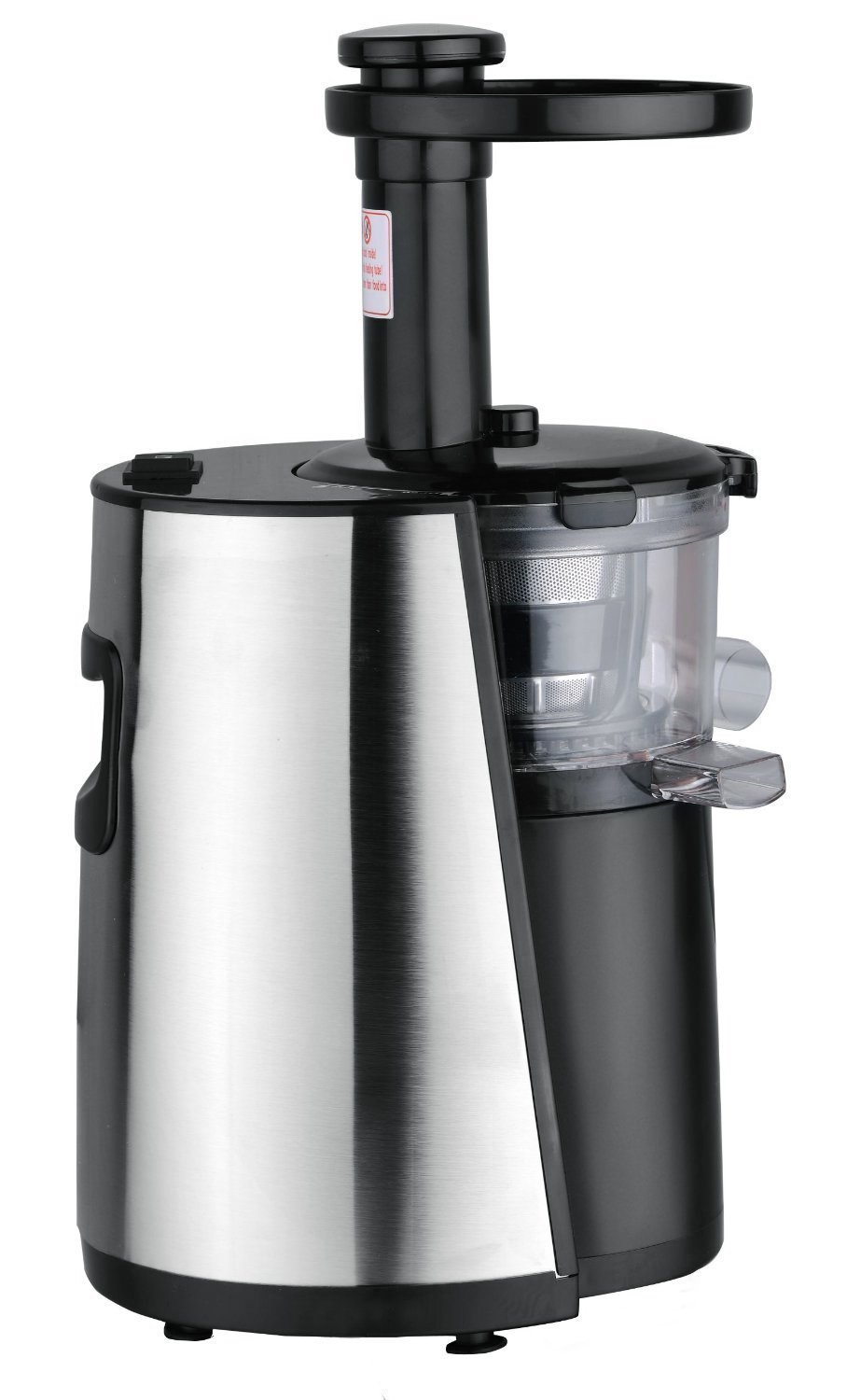 Chef's Star Slow Masticating Juicer - Stainless Steel/Black