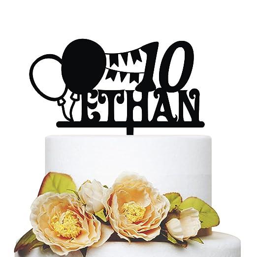 Kiskistonite - Decoración para tartas de 10º cumpleaños ...