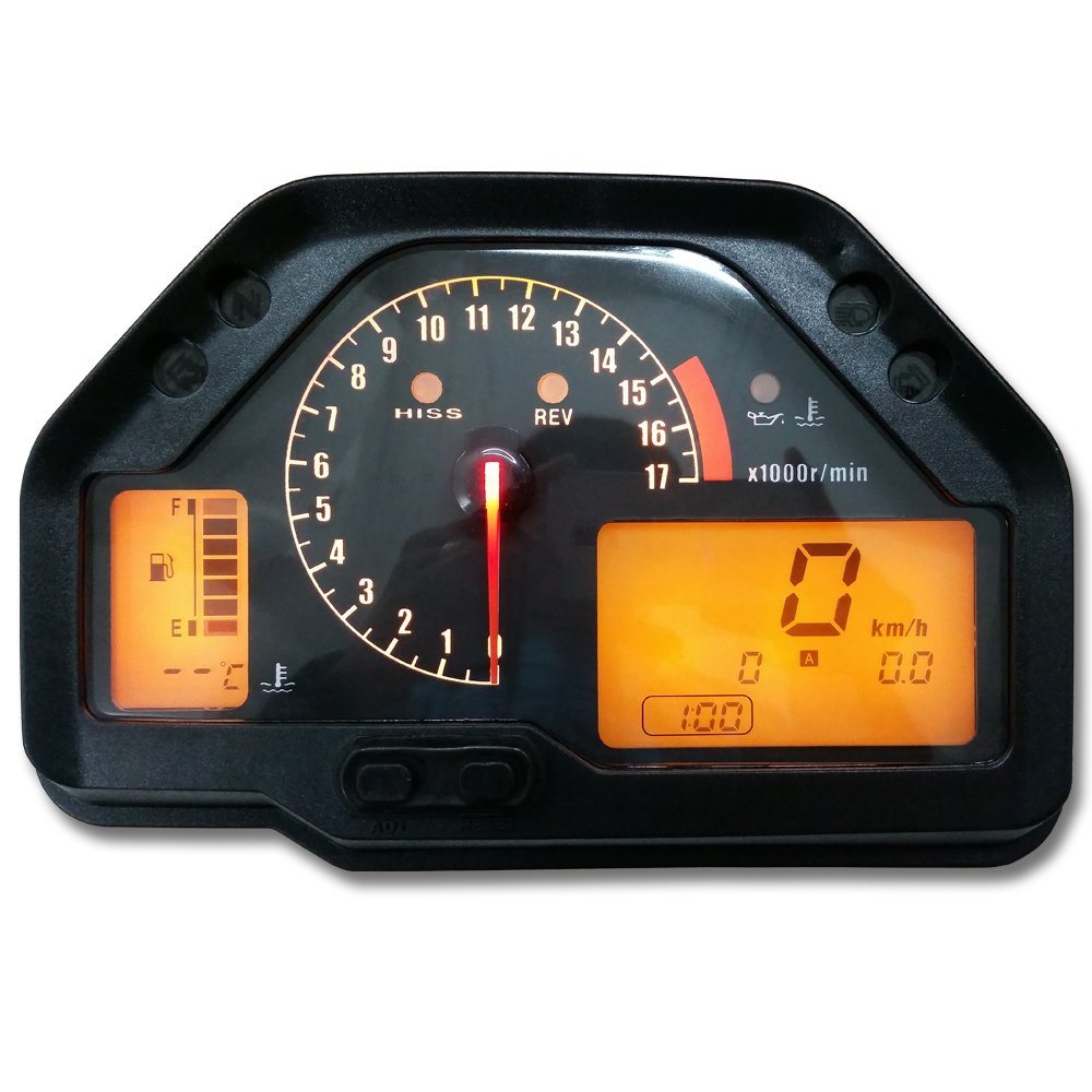 zxmoto – Conjunto de velocímetro y tacómetro para Honda CBR 600RR F5(2003-2006) ZXMOTO-CN