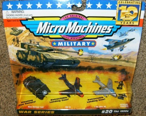 Micro Machines Military #20 the 1950's Collection