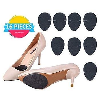 88ec84f215bc Amazon.com  (16 pcs) Anti Slip Non-Skid Shoe Pads Stick on Bottom ...