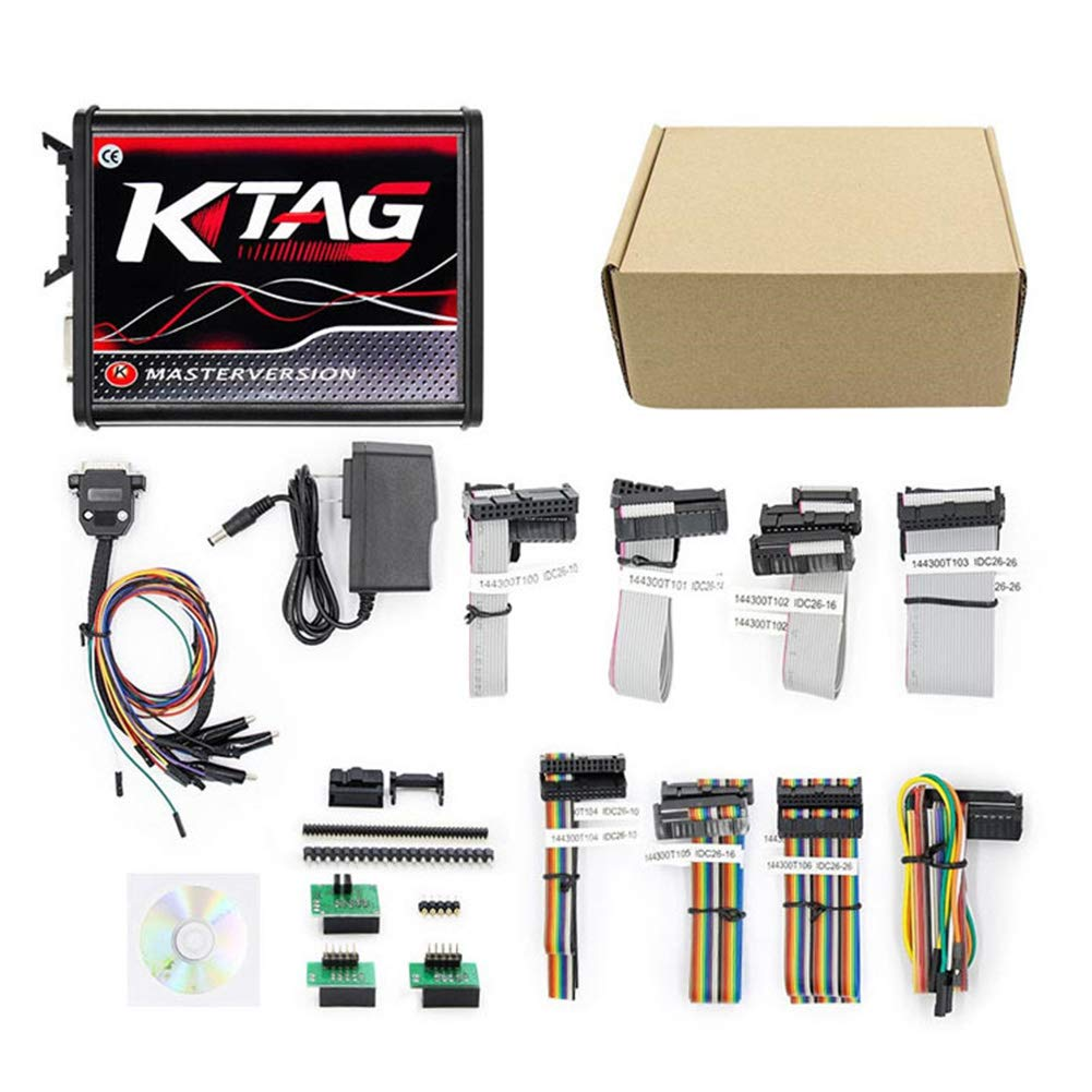 DishyKooker V2.23 KTAG V7.020 K-Tag Master Tester Motore Strumento diagnostico per Auto Regalo per Bambini
