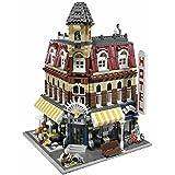 乐高 LEGO 10182 街景系列 华丽咖啡馆 转角咖啡厅 拼插积木 玩具