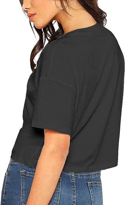 VANMASS Raven Teen Titans Go Womens Short Sleeve Crop Tops T-Shirt